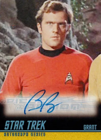 The Classic Star Trek Autograph Reference Center!: Bob ...