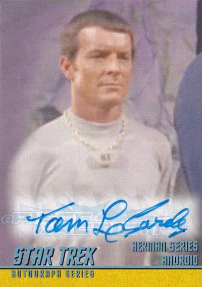 The Classic Star Trek Autograph Reference Center!: Tom ...