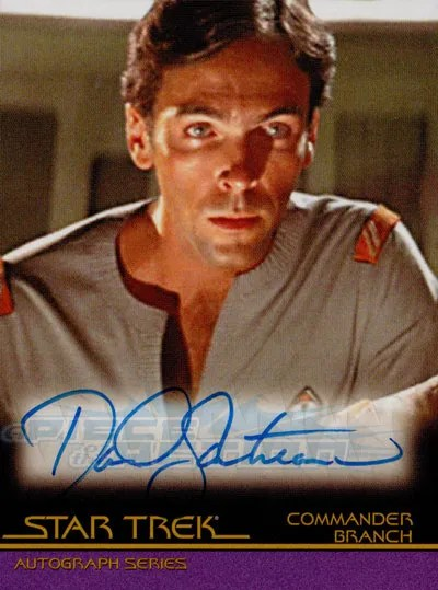 The Classic Star Trek Autograph Reference Center!: David ...