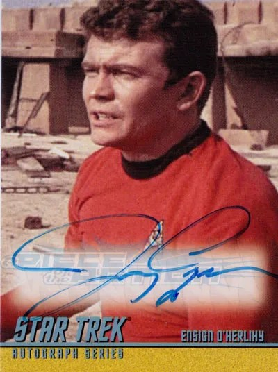 The Classic Star Trek Autograph Reference Center!: Jerry ...