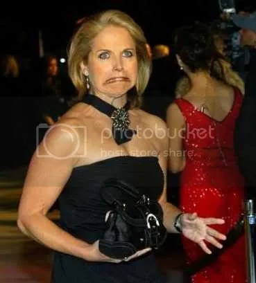 katie couric is ugly