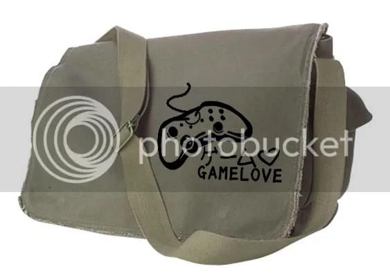 Game Love Messenger Bag