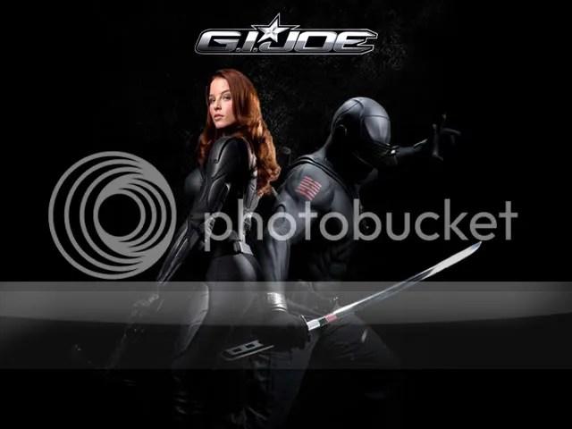 Scarlett and Snake Eyes