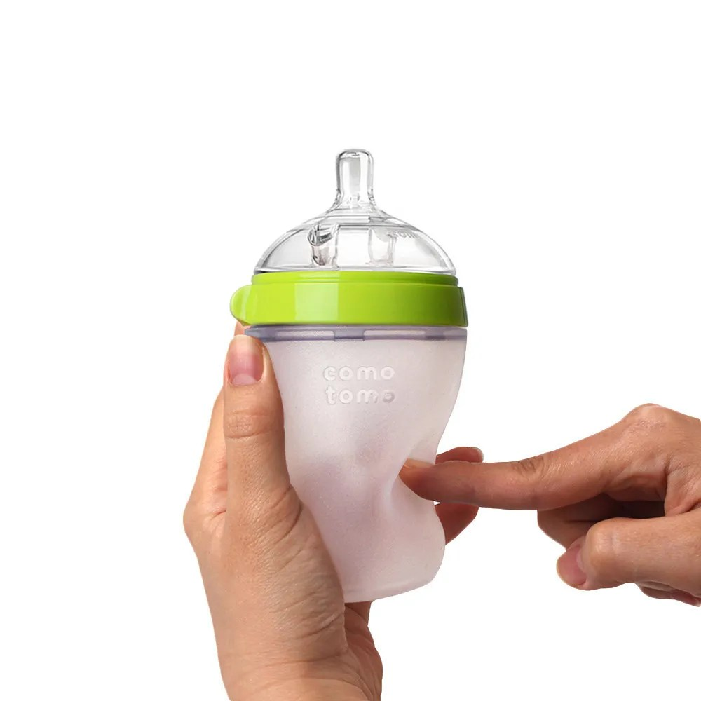 Coolest baby gifts of the year: Comotomo soft silicone baby bottle system   Cool Mom Picks Editors' Best