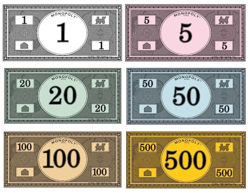 Image result for monopoly money