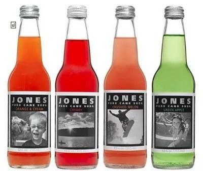 My Jones personalized soda