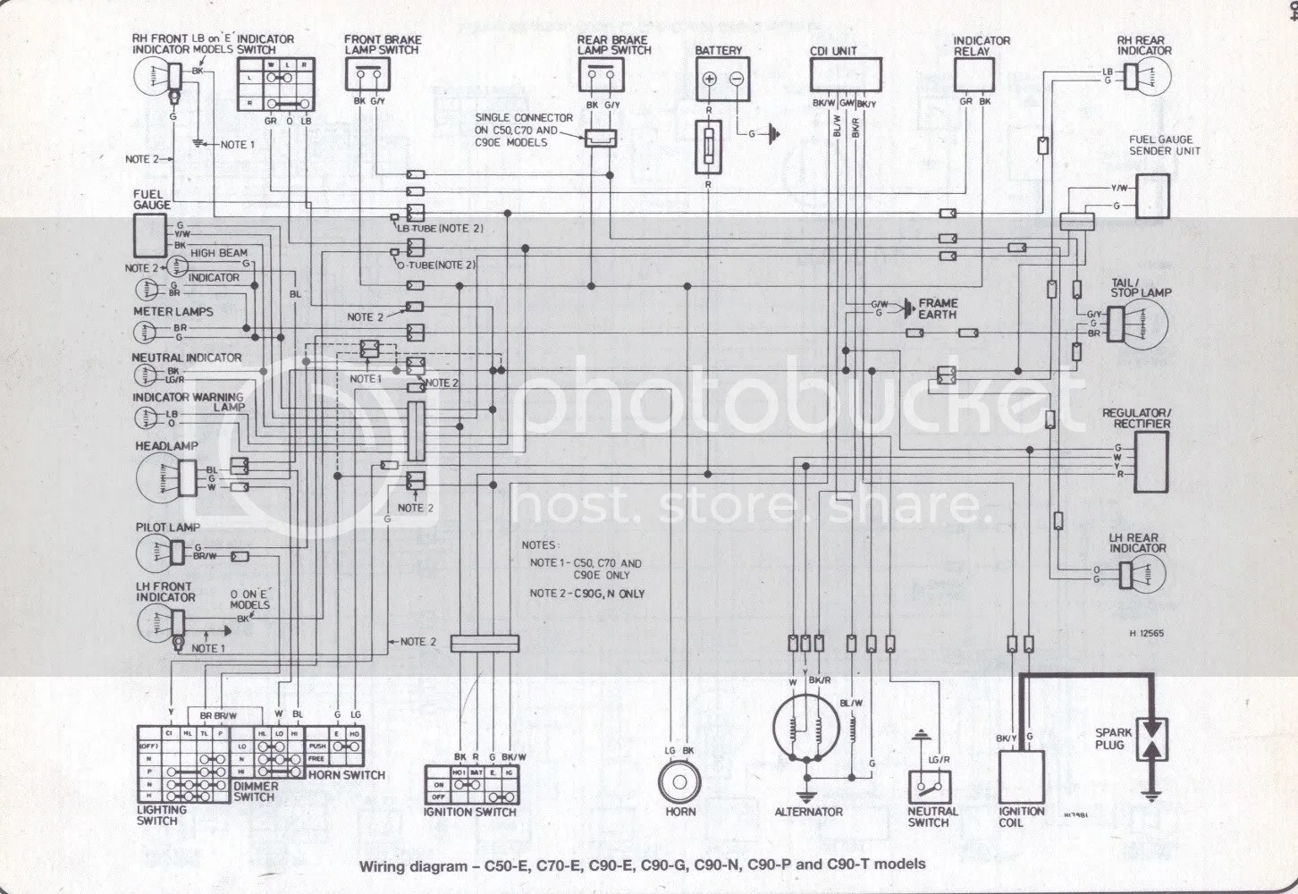 C70 Wiring Diagram