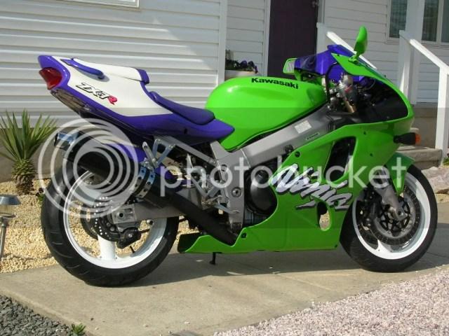Kawasaki Ninja Zx 7r 1998 | hobbiesxstyle
