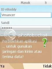 ebuddy-ijin mengakses jaringan-pertukaran <br />data-vmancer