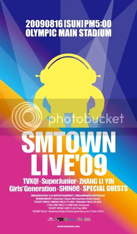 SNSD,Super Junior,DBSK,SHINee,Zhang Li Yin