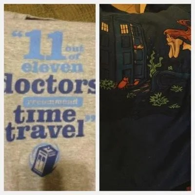 Doctor Who Redbubble tees