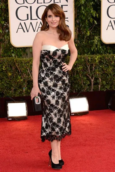Tina Fey on the red carpet