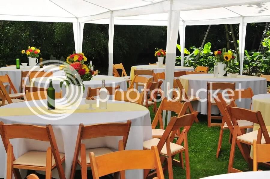 Garden Party Wedding Tables