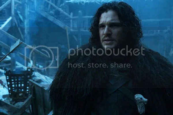 Jon Snow in The Watchers on the Wall