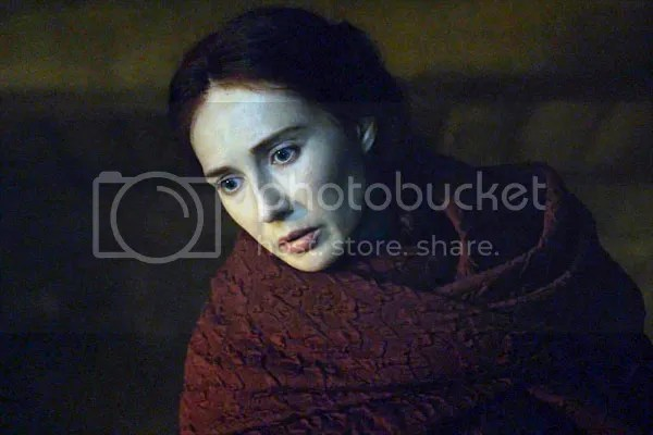 Melisandre in The Red Woman