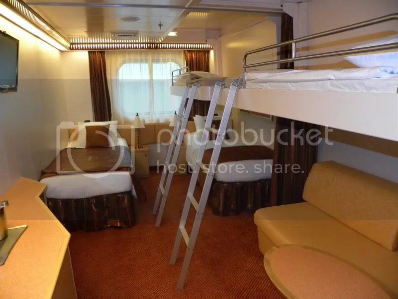 Cabin For 5 People In Splendor Cruise Critic Message