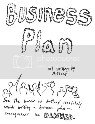 the horror of business plans