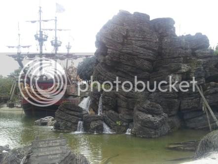 Jolly Roger y Roca Calavera