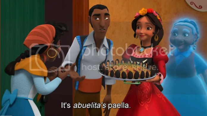 it's abuelita's paella