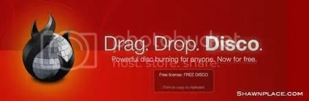 Free Mac Disc burner Download - Drag, Drop, Disco