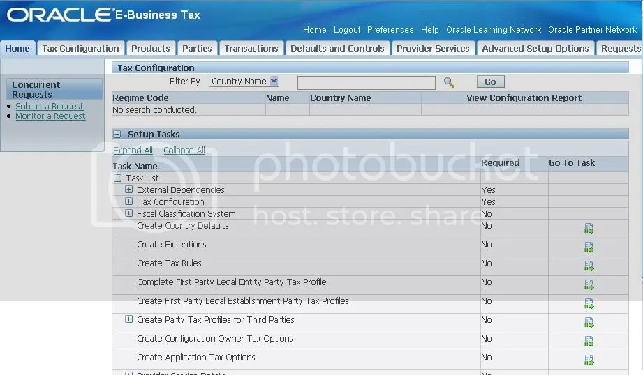 E-Business Tax Homepage