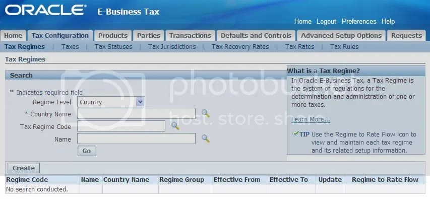TaxRegimes