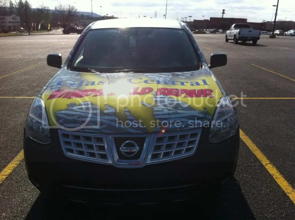 Car Wrap On The Car Windshield Repair Forum