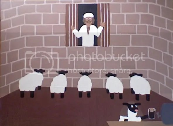 Brian and the Sheep