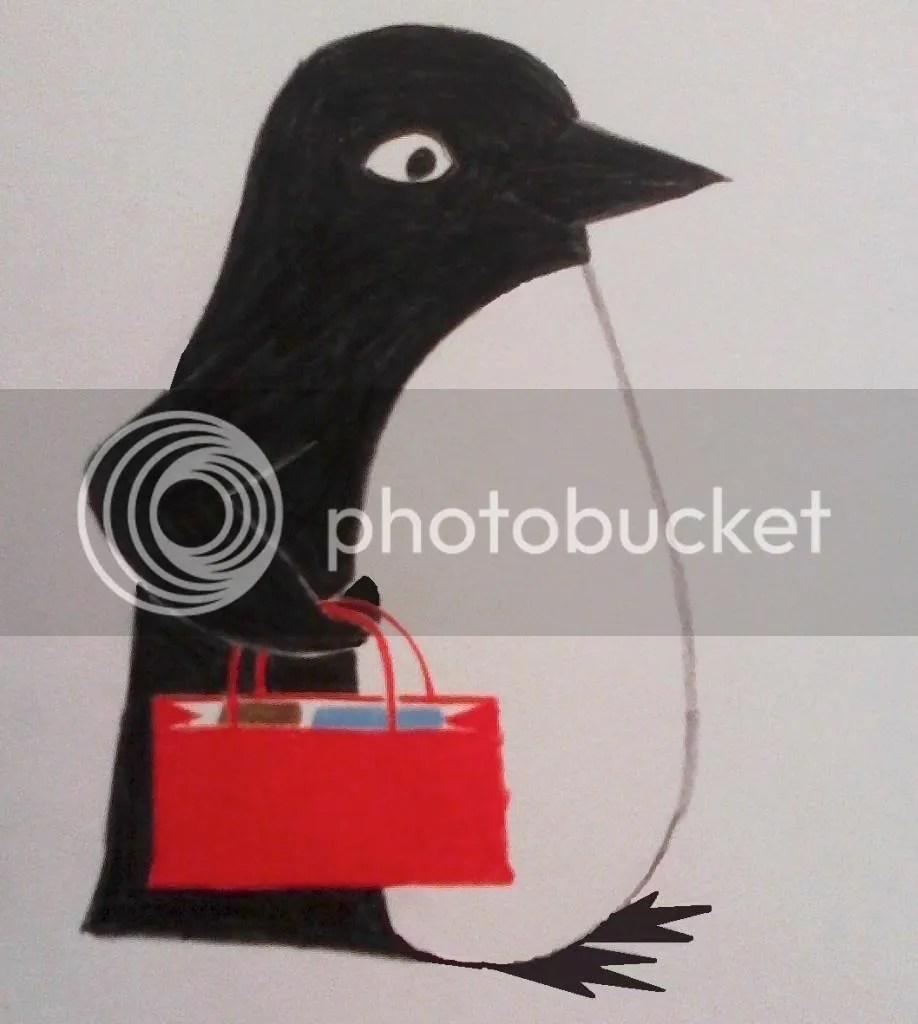 Shopping Penguin