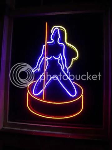 Neon Stripper