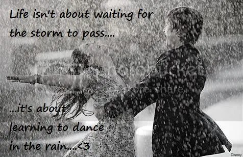 dance in the rain