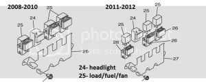 Headlight relayLoad control relay 08 NYTRO  SnoWest