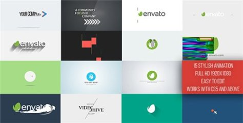 Short Logo Reveal Pack - After Effects Project (Videohive)