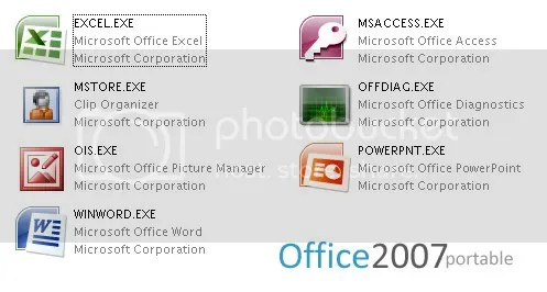 """""""Office 2007 Portable"""""""