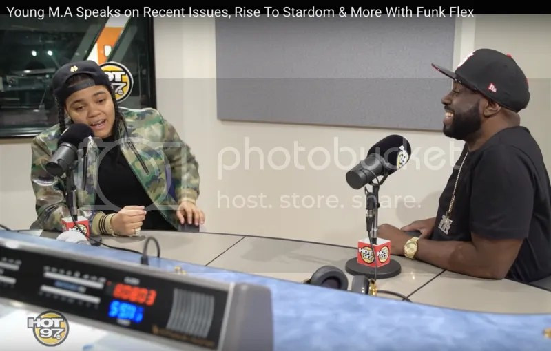 Young m.a. with Funk Flex