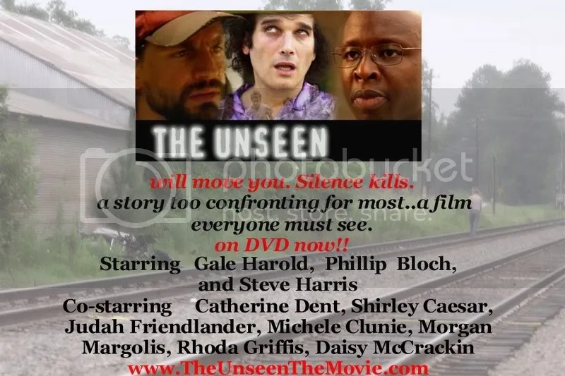 The Unseen is now on DVD!! Gale Harold, Phillip Bloch, Steve Harris