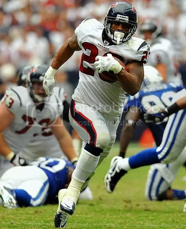 This Just In... Arian Foster Injured.