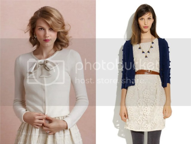 cardigans for brides and bridesmaids for fall and winter weddings