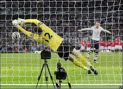 Foster Penalty Save At Wembley
