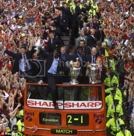 Uniteds Parade In 1999