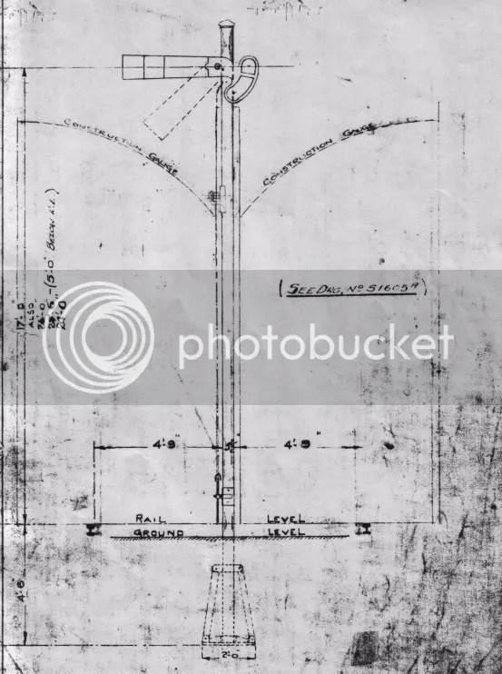Diagram #5: GSR/CIE tubular post signal