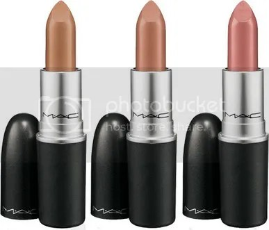 MAC Lipstick Cosmetics Hot Neutral  Makeup Lip Color Shades 2010 Beauty picture