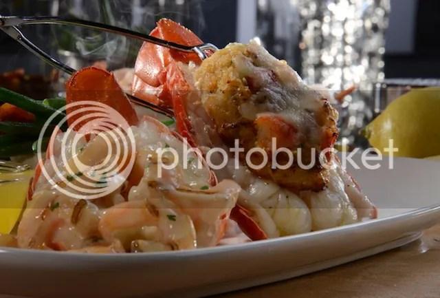 Dueling Lobster Tails  #BestLobsterFest