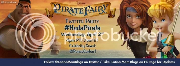 The Pirate Fairy #HadaPirata Bilingual Twitter Party
