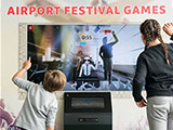 Airport festival games
