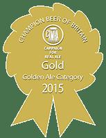 Golden Ale Rosette - Gold