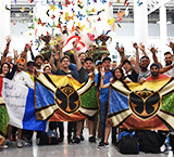 Tomorrowland festivalgoers