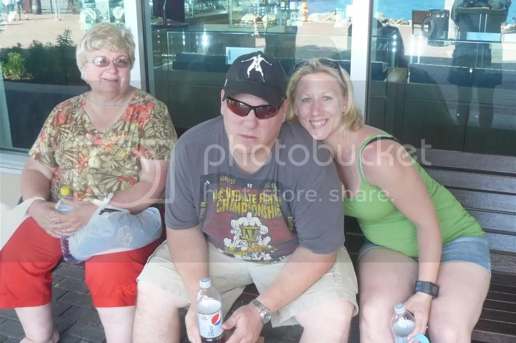 Mom, James, and Brooke - St. Thomas