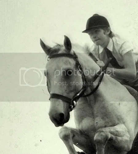 My first pony, a Somali-Arab cross called Cinderella