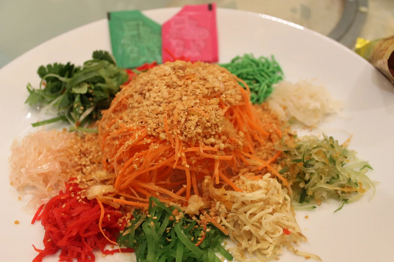 photo Fresh Norwegian Salmon Yee Sang  Salmon Yee Sang_China Treasures  KLGCC.jpg